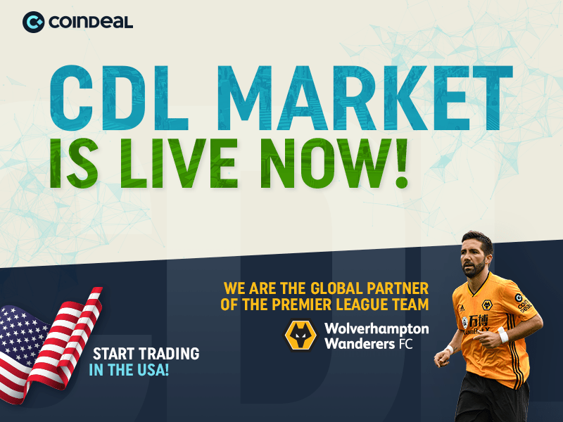 Global partner of the Premier League Team opens 13 crypto markets in the USA market for its CoinDeal Token 18