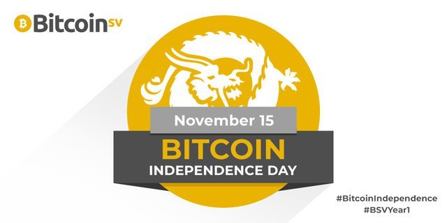 Bitcoin Independence Day, 15th November 2019: Bitcoin SV: the fastest growing blockchain, ever 18