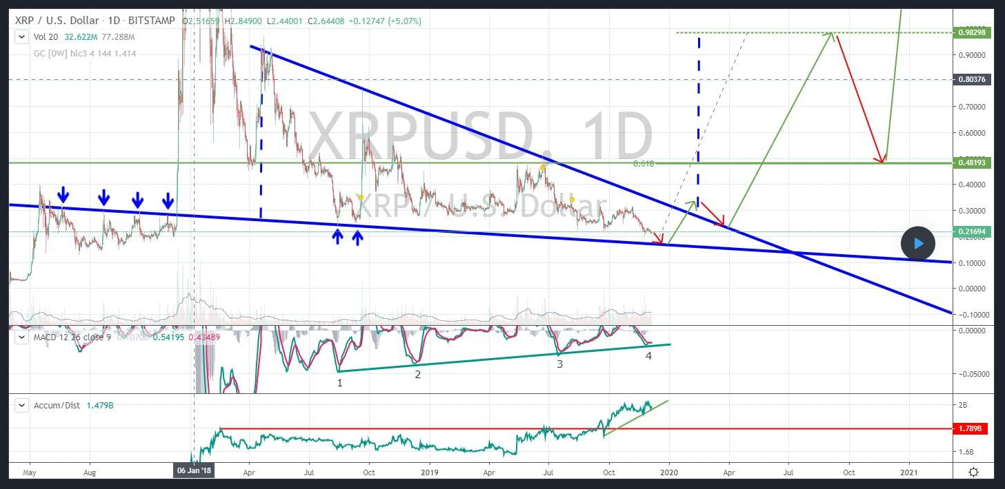 XRP Price Poised to Tumble by 20% as Chart Breaks Down; Here's Why 17
