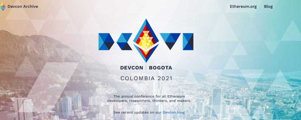 Bogotá, Colombia, to Host Ethereum's DevCon 6 in 2021 17