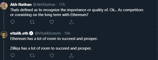 Vitalik Buterin: Zilliqa (ZIL) Has a Lot of Room to Succeed & Prosper 14
