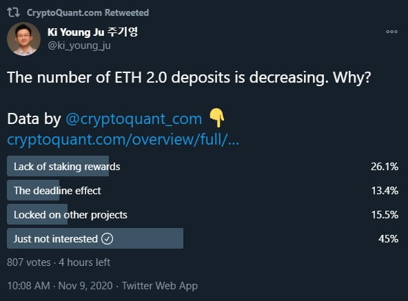 Binance CEO Hints at Buying 32 Ethereum to Support ETH 2.0 17