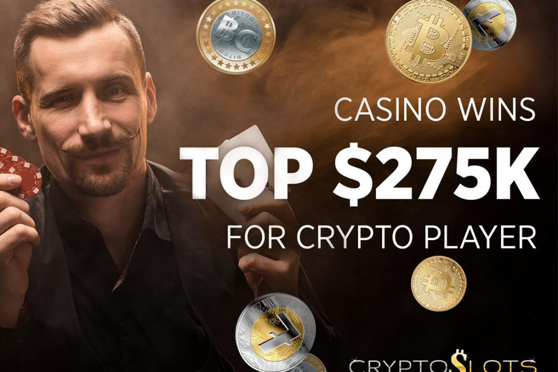 How One Crypto Player's Winnings have Reached $275k at CryptoSlots in Two Years 14