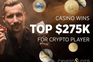 How One Crypto Player's Winnings have Reached $275k at CryptoSlots in Two Years 16