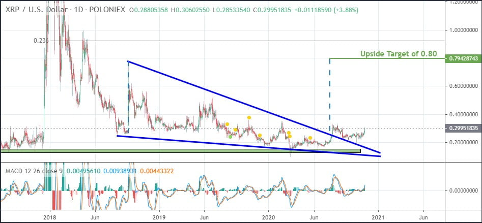 XRP Could Rally Above $0.80 to test $0.92 - Analyst 13