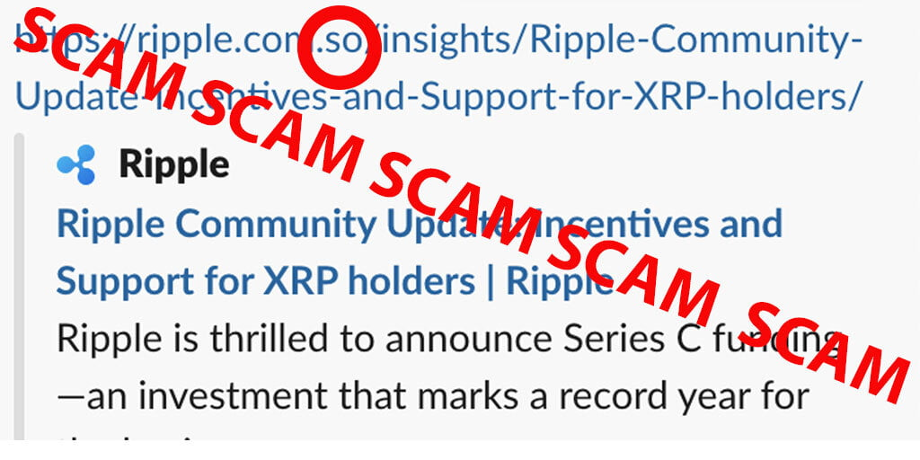 XRP Army Hit By New Scam Promising Community Incentives & Support 16