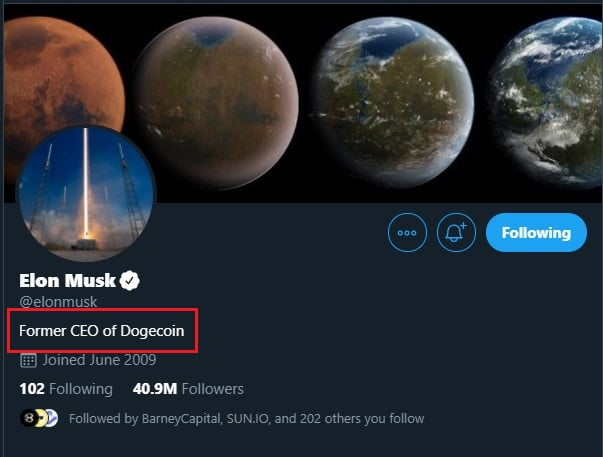 Bitcoin (BTC) is my 'Safe Word', Just Kidding - Elon Musk 5