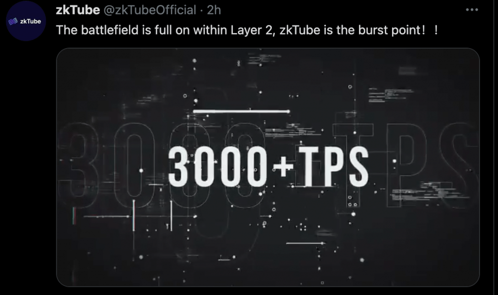 Guess What? The key which triggers layer2 is actually zkTube. 14