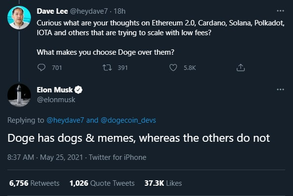Elon Musk Requests the Dogecoin Community to Submit Development Ideas 17